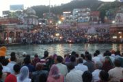 Arti and Spirtual Enlightment at the Ganges River, India