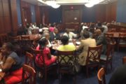 Strategizing with USBC on Capitol Hill about increasing Government Contracting Opportunities