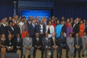 USBC Leadership White House Group Photo - Front Row, Far Right, Last Person Sitting